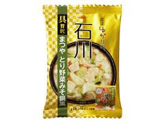 tabete ゆかりの 石川 まつやとり野菜みそ鍋風 袋13.7g