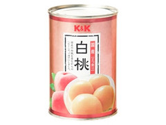 K&K 白桃 缶425g