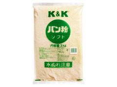 K&K パン粉 ソフト 袋3kg