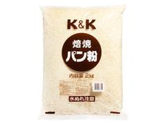 K&K 焙焼パン粉 袋2kg