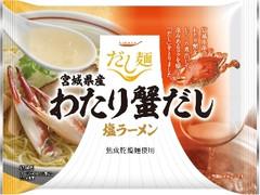 tabete だし麺 宮城県産わたり蟹だし塩ラーメン 袋104g