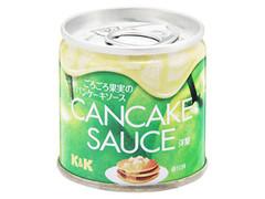 K&K ごろごろ果実のパンケーキソース 洋梨 缶90g