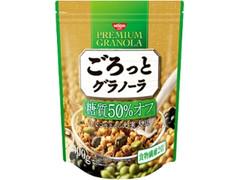 日清シスコ ごろっとグラノーラ 糖質50%オフ きなこ仕立ての充実大豆 袋400g