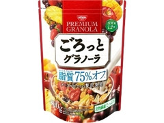 日清シスコ ごろっとグラノーラ 脂質75%オフ メープル仕立ての贅沢果実 袋400g
