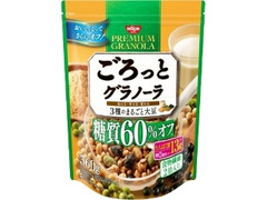 日清シスコ ごろっとグラノーラ 3種のまるごと大豆 糖質60%オフ 袋360g