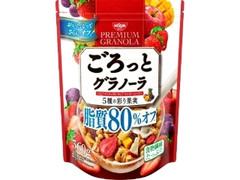 日清シスコ ごろっとグラノーラ 5種の彩り果実 脂質80%オフ 袋360g