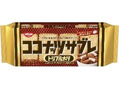 日清シスコ ココナッツサブレ トリプルナッツ 袋5枚×4