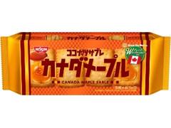 日清シスコ ココナッツサブレ カナダメープル 袋5枚×4