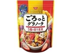 日清シスコ ごろっとグラノーラ 5種の彩り果実 袋400g