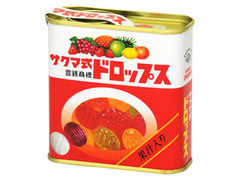 佐久間製菓 サクマ式ドロップス 缶75g