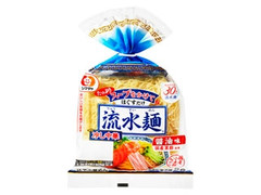シマダヤ 流水麺 冷し中華 醤油味 袋510g