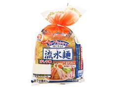 シマダヤ 流水麺 冷し中華 ごまだれ味 袋510g