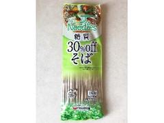 白石興産 Noodles糖質30%offそば 袋160g