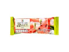 セブンプレミアム まるですいかを冷凍したような食感のアイスバー 袋70ml