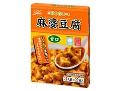 CGC 麻婆豆腐 甘口 箱155.2g