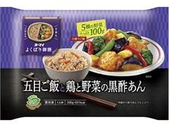 オーマイ よくばり御膳 五目ご飯と鶏と野菜の黒酢あん 袋300g