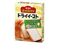 オーマイ ふっくらパン ドライイースト 箱3g×6