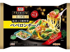 オーマイ プレミアム 彩々野菜 海老と5種野菜ペペロンチーノ