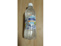 サンガリア 伊賀の天然水 強炭酸水レモン ペット500ml