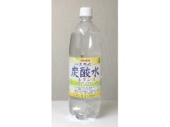 サンガリア 伊賀の天然水 炭酸水レモン ペット1000ml