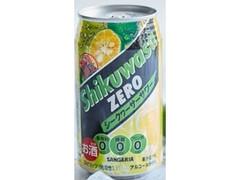 サンガリア 糖類0シークヮーサー 缶350ml