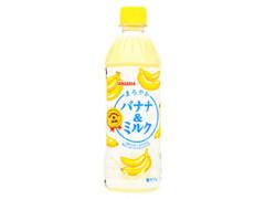サンガリア まろやかバナナ&ミルク ペット500ml