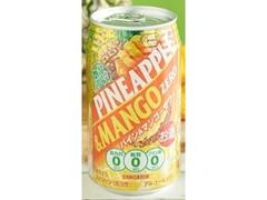サンガリア 糖類0パイン&マンゴー 缶350ml