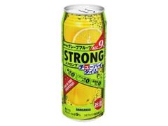 サンガリア ストロングチューハイタイム ゼロ グレープフルーツ 缶490ml