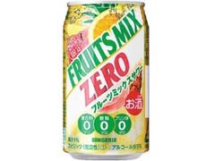 サンガリア 糖類0 フルーツミックス 缶350ml