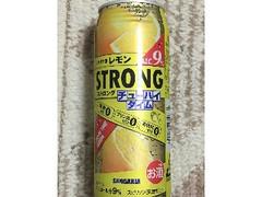 サンガリア チューハイタイム ストロング レモン 缶490ml