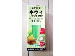 スジャータめいらく ビタミンC キウイ ブレンド100 パック200ml