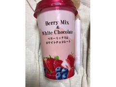 スジャータめいらく ベリーミックス&ホワイトチョコレート カップ200g