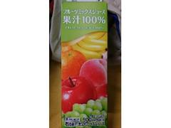 スジャータめいらく フルーツミックスジュース果汁100% 900ml