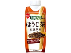 スジャータめいらく 有機大豆使用 ほうじ茶 豆乳飲料 パック330ml