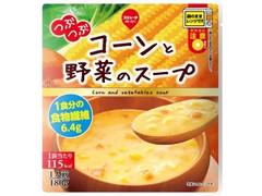 スジャータめいらく つぶつぶコーンと野菜のスープ 袋180g