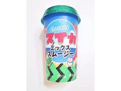 スジャータめいらく ラムネ風味スイカミックススムージー カップ200g