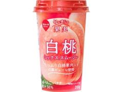 スジャータめいらく 白桃ミックススムージー カップ200g