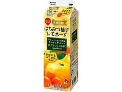 スジャータめいらく 家族の潤い はちみつ柚子レモネード