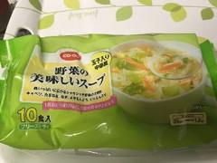 コープ 野菜の美味しいスープ 袋10食