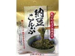 日東海藻 納豆こんぶ 袋27g