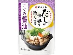 にんべん だしが世界を旨くする コク味醤油 鍋スープ