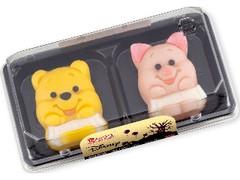 バンダイ 食べマス Disneyハロウィン プーさん&ピグレット パック2個