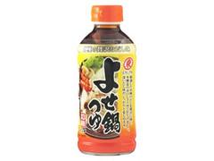 ヒガシマル よせ鍋つゆ ボトル400ml