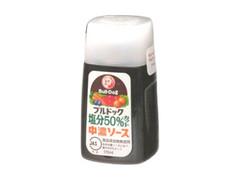 ブルドック 塩分50%カット 中濃ソース ボトル170ml