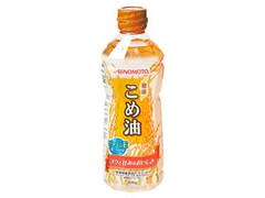 味の素 こめ油 ボトル600g