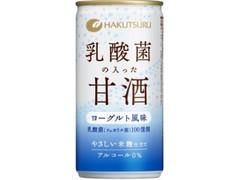 白鶴 乳酸菌の入った甘酒 缶190g