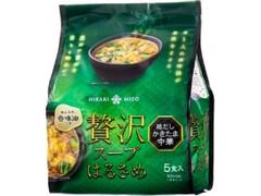 ひかり味噌 贅沢スープはるさめ 鶏だしかきたま中華