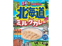 ハチ るるぶコラボ 北海道 ミルクカレー 箱200g