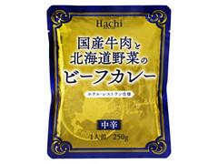 ハチ 国産牛肉と北海道野菜のビーフカレー