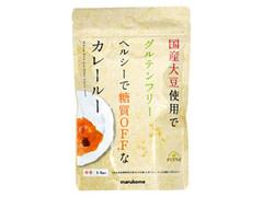マルコメ ダイズラボ 国産大豆使用でグルテンフリー ヘルシーで糖質OFFなカレールー 中辛